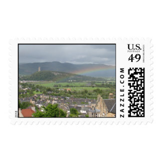 Rainbow in Scotland Postage