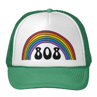 Rainbow in the 808 hats