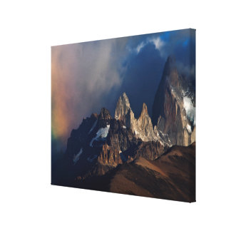 Rainbow In The Andes Canvas Print