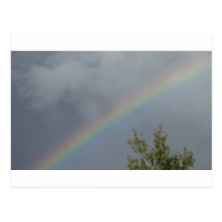 Rainbow in the Clouds Postcards