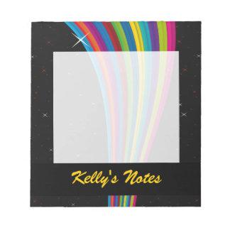 Rainbow In The Dark Note Pad