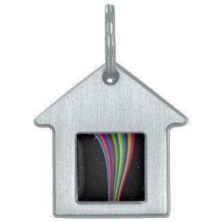 Rainbow In The Dark Pet Tag