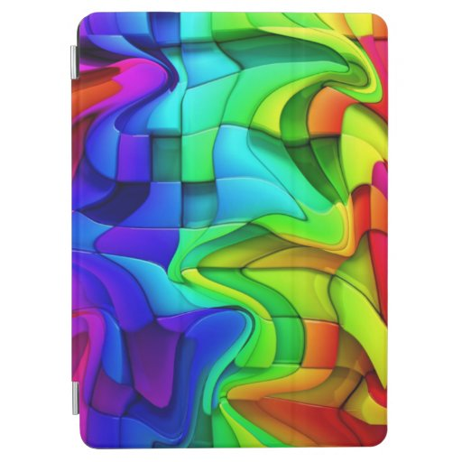 Rainbow In The Wind iPad Air Cover
