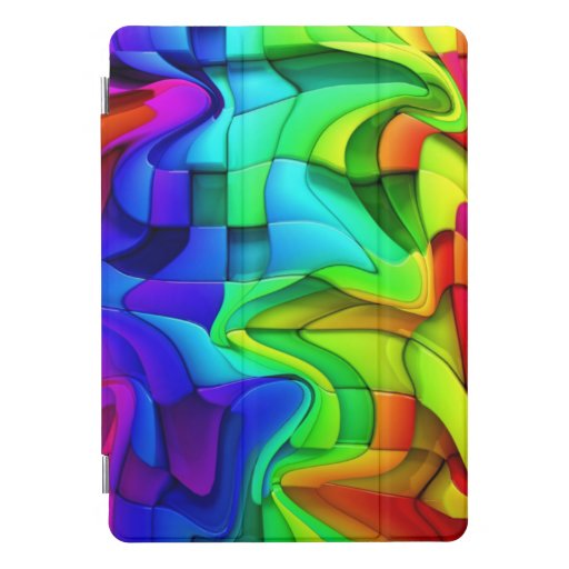 Rainbow In The Wind iPad Pro Cover