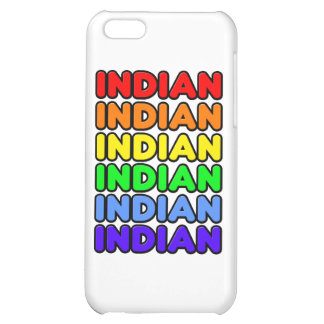 Rainbow Indian Case For iPhone 5C