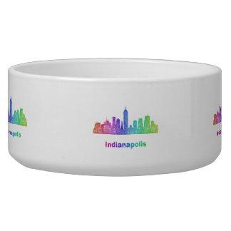 Rainbow Indianapolis skyline Bowl