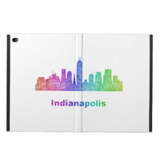 Rainbow Indianapolis skyline Powis iPad Air 2 Case