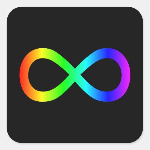Rainbow Infinity Symbol Sticker