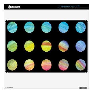 Rainbow Inside MacBook Decal