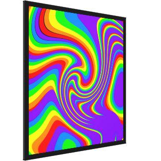 Rainbow Inspiration Stretched Canvas Print