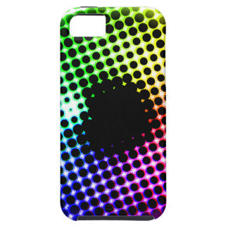 Rainbow Iris Unicorn Eye Color Spectrum Comic iPhone SE/5/5s Case