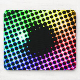 Rainbow Iris Unicorn Eye Color Spectrum Comic Mouse Pad