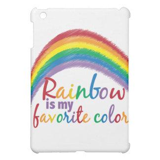 rainbow is my favorite color iPad mini cover