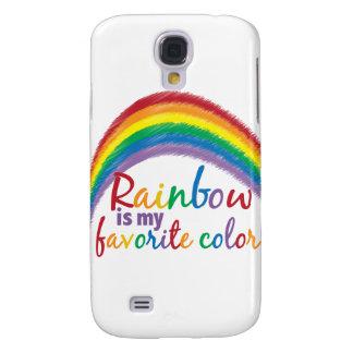 rainbow is my favorite color samsung galaxy s4 case