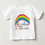 rainbow is my favorite color tee shirt