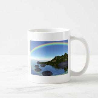 rainbow isalnd coffee mug