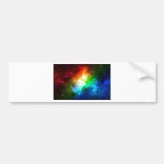 Rainbow Items Bumper Sticker