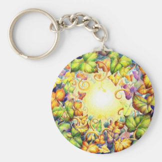 Rainbow Ivy Eye Keychain