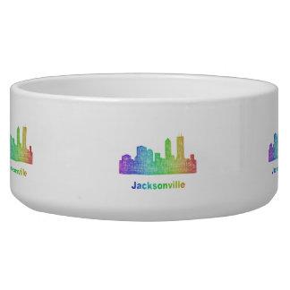 Rainbow Jacksonville skyline Bowl