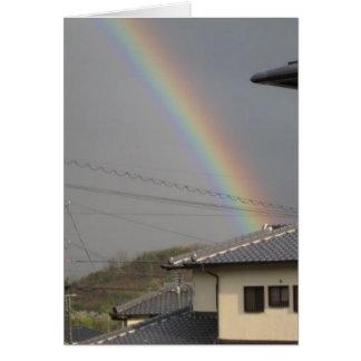 rainbow japan card