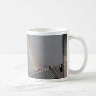 rainbow japan coffee mug
