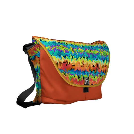 """Rainbow Jazz"" Messenger Bag"