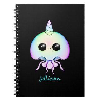 Rainbow Jellicorn Spiral Notebook