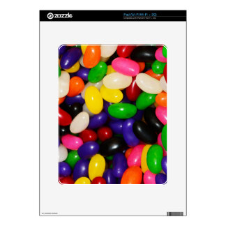Rainbow Jelly Beans - Candy Print Skin For The iPad