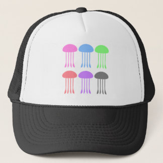 Rainbow Jellyfishes on Parade Trucker Hat