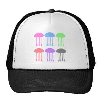 Rainbow Jellyfishes on Parade Trucker Hat