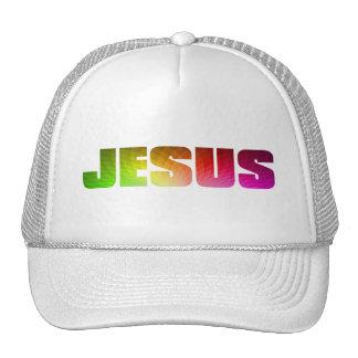 Rainbow Jesus Hat
