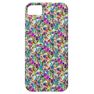 Rainbow Jewel Rhinestone Graphic Bling iPhone Case iPhone 5 Cover