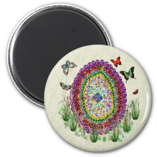 Rainbow Jewels Easter Egg Magnet