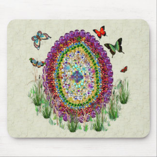 Rainbow Jewels Easter Egg Mouse Pad