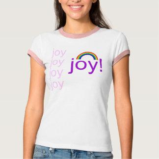 rainbow, joy, joy, joy, joy, joy! T-Shirt