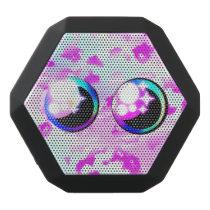 Rainbow just eyes kawaii manga pink speaker