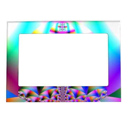 Rainbow Kaleidoscope Magnetic Photo Frame