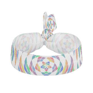 Rainbow Kaleidoscope Stars 2 hair tie