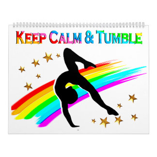 RAINBOW KEEP CALM AND TUMBLE CALENDAR