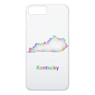 Rainbow Kentucky map iPhone 7 Plus Case