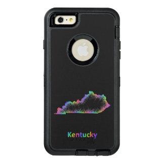 Rainbow Kentucky map OtterBox Defender iPhone Case