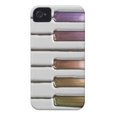 Rainbow Keyboard Colorful Keys iPhone Case iPhone 4 Cases