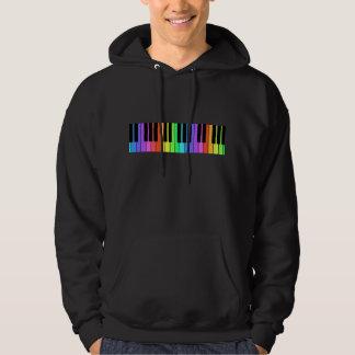 Rainbow Keyboard Hoodie