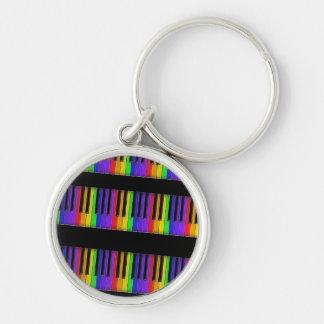 rainbow keyboard keychain