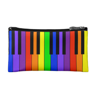 Rainbow Keyboard Makeup Bags