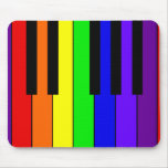 Rainbow Keyboard Mouse Pad
