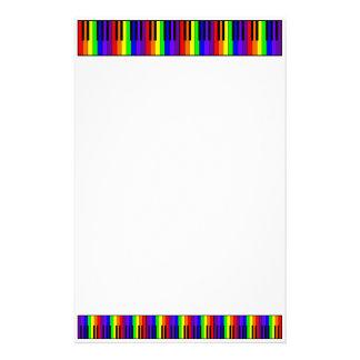 Rainbow Keyboard Stationery