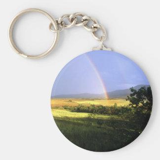 rainbow key chain