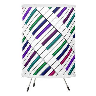 Rainbow Keys Piano Music Desk Lamp