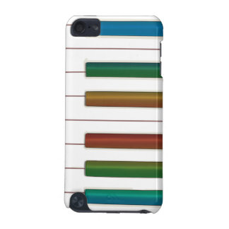 Rainbow Keys Piano Music iPod Touch Case